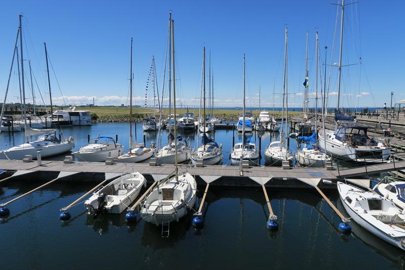Lystbådehavnen i Malmø