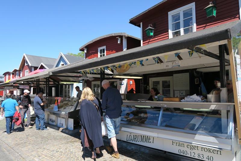 Fiskemarked i Malmø
