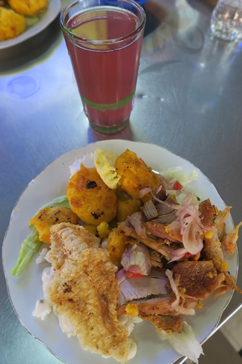 Morgenmad i Ecuador