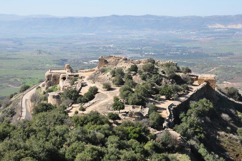 Middelalderborgen Nimrod i Golanhøjderne
