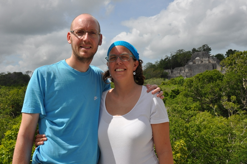 Two Danes On Tour ved Calakmul