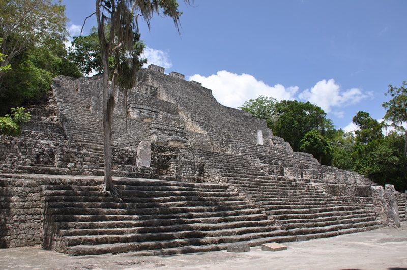 De smukke Calakmulruiner i Mexico