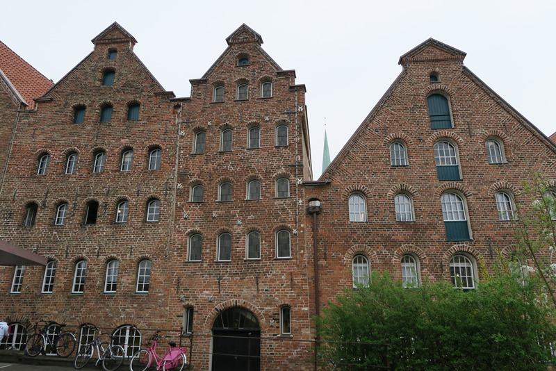 Fine huse i Lübeck