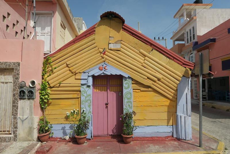 Fint hus på Isla Mujeres, Mexico