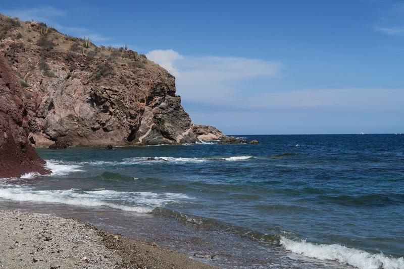 Stranden ved San Carlos
