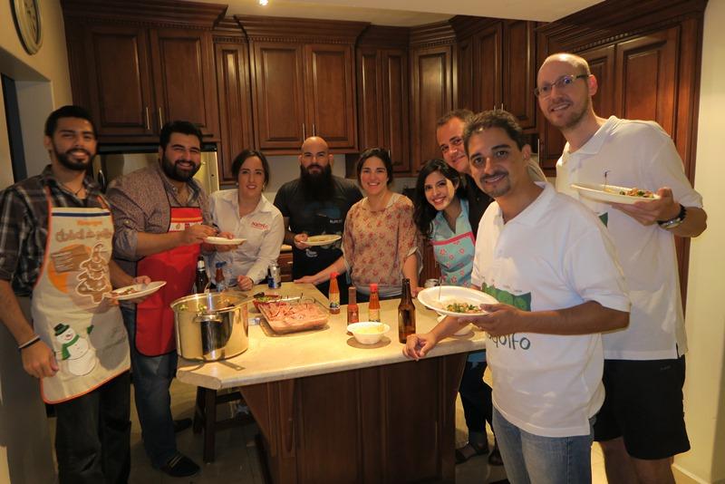 Køkkenfest hos Rodolfo