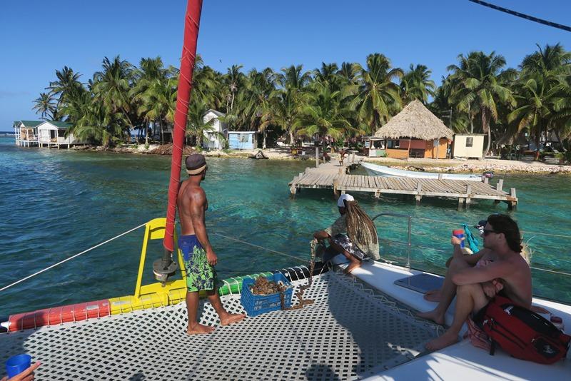 Tobacco Caye i Belize