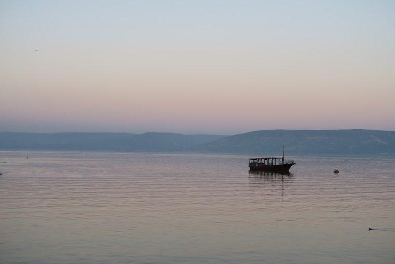 Genesaret sø i Israel