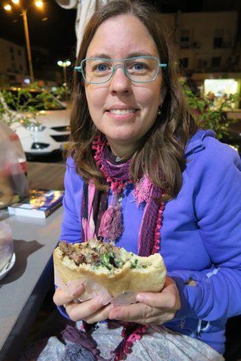 Lækre pitabrød fåes overalt i Israel
