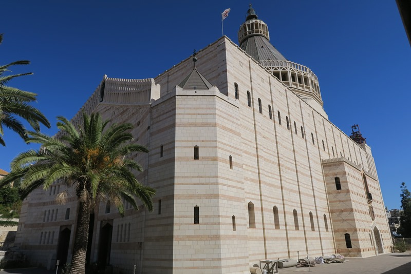 Basilica of the Annunciation i Nazaret