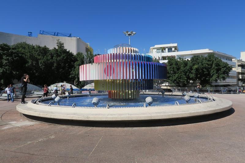 Springvand i Tel Aviv