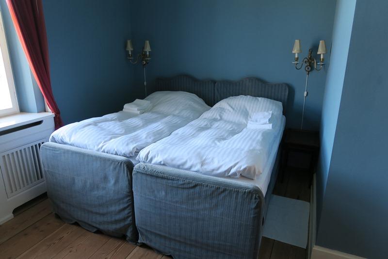 Det blå værelse på Lungholm slot