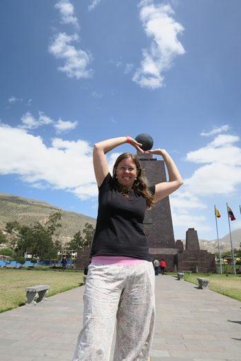 Sjov på Ekvatorlinjen