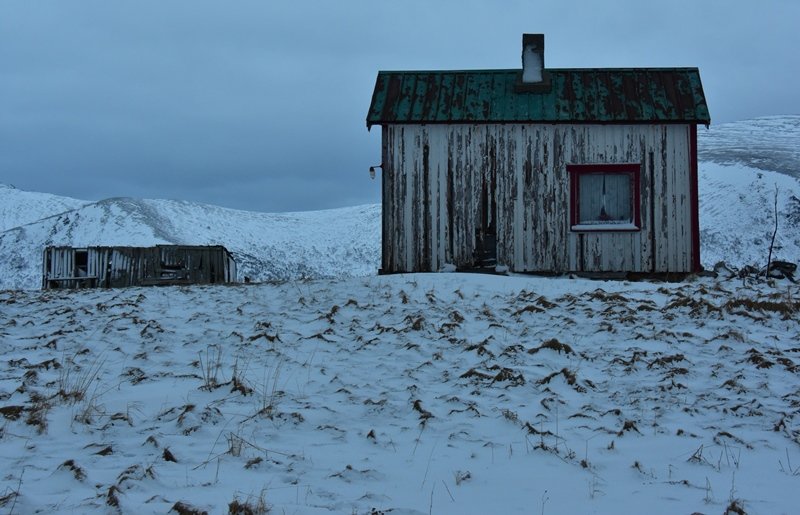 Forladt hus i Norge