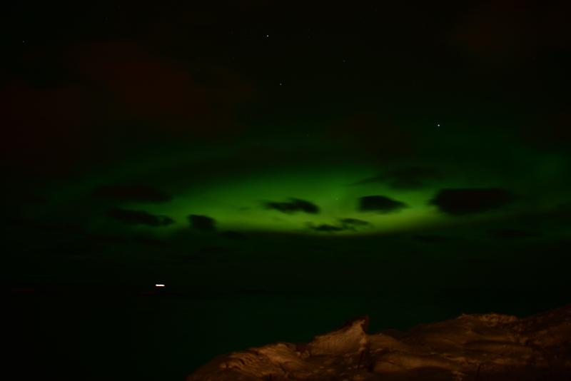 Nordlys som en alien