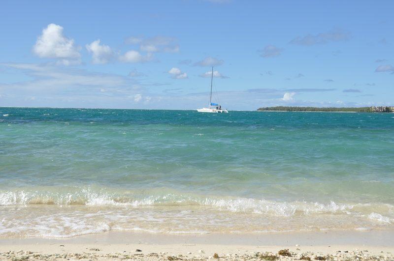 Det flotte hav ved Mauritius