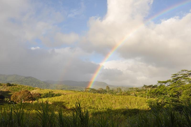 Hvor regnbuen ender på Mauritius