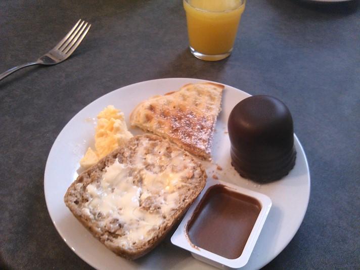 Morgenmad på hotellet