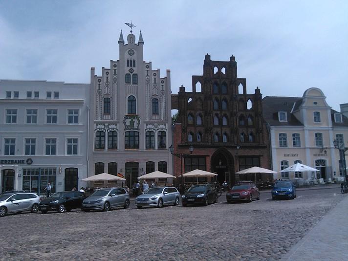 Det store torv i Wismar