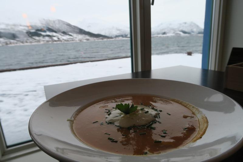 Fiskesuppe med udsigt