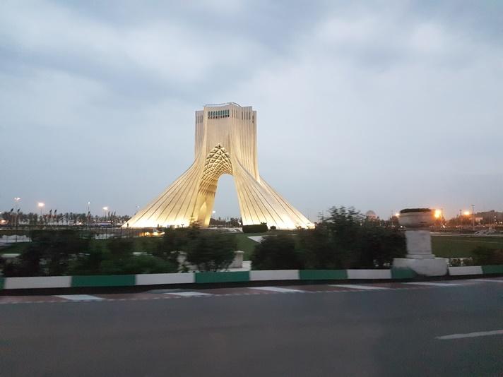 Azadi Tower i Teheran, Iran