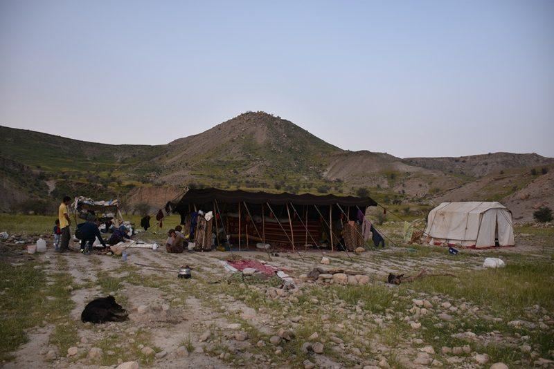 Teltet i lejren
