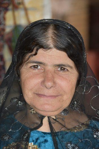 Kvinde i tehus