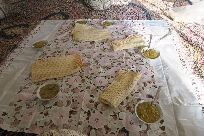 Typisk morgenmad i Iran