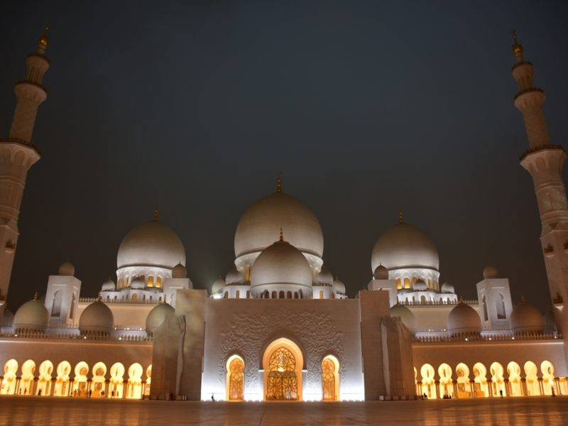 Grand Mosque i Abu Dhabi
