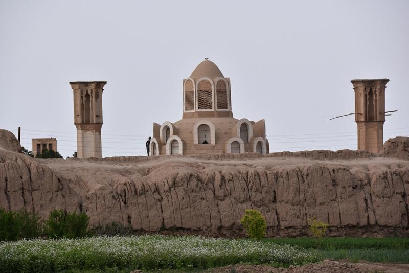 Gammel borg og Boroujerdi i Kashan
