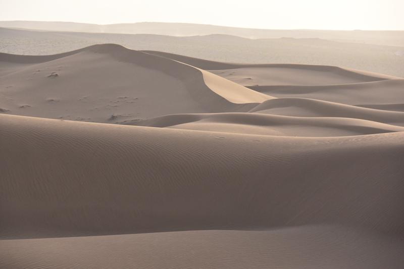 Ørkenen Dasht-e Kavir nær Kashan