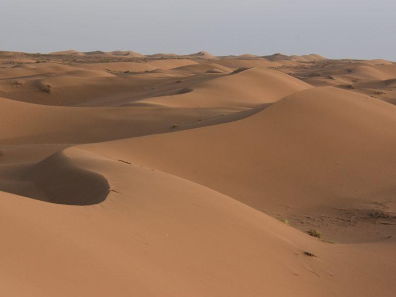 Den smukke ørken ved Kashan