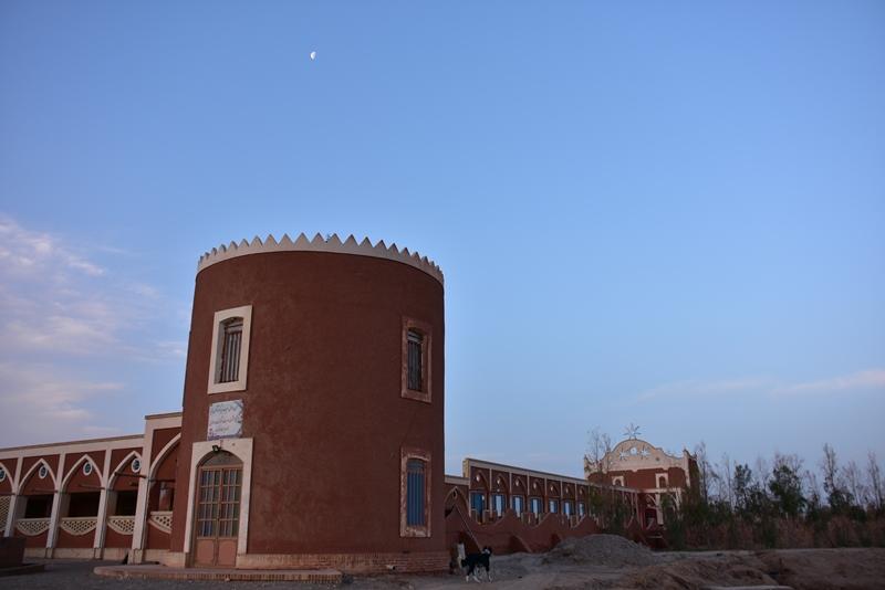 Karavanestation nær Kashan