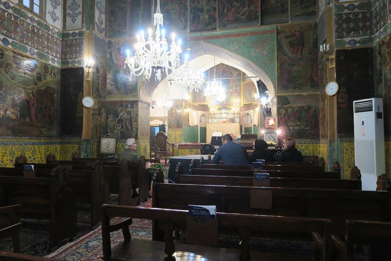 Til begravelse i den armenske kirke i Isfahan