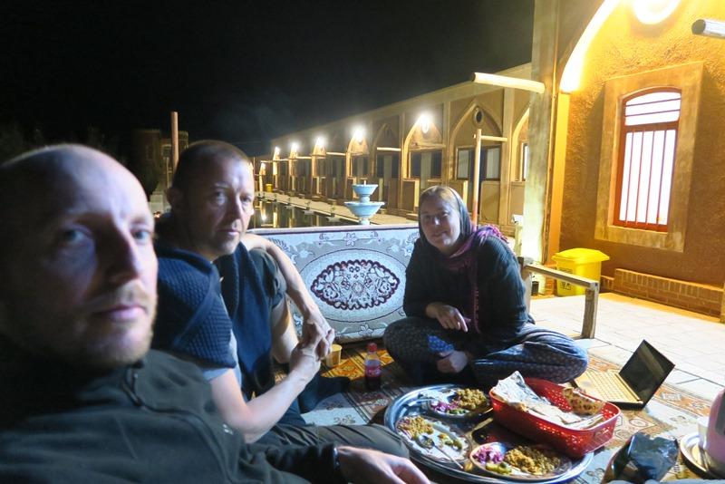 Aftenhygge på karavanestationen