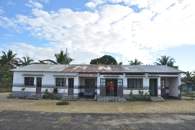 Lufthavnsbygningen i Mananara