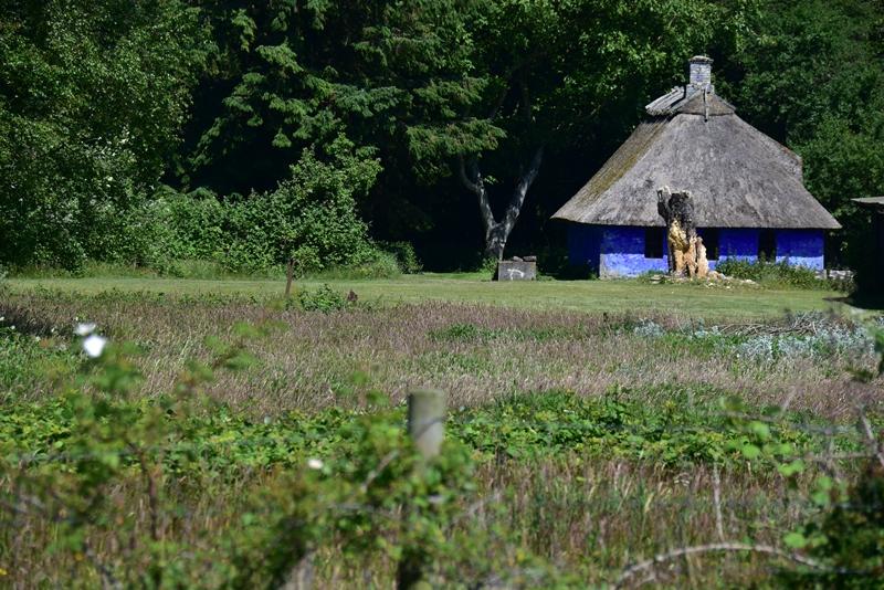 Peter Freuchens blå hus på Enehøje