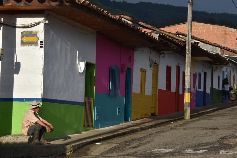 Flere farver, Jardín, Colombia