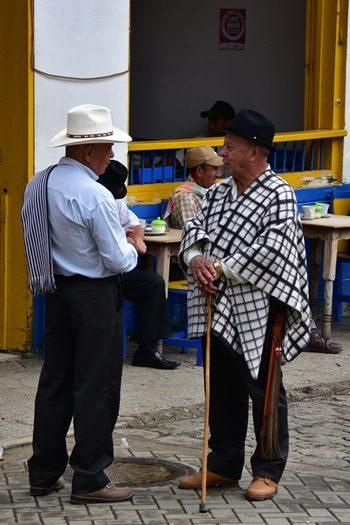 Når venner mødes i Andes