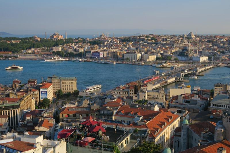 Udsigt over Istanbul
