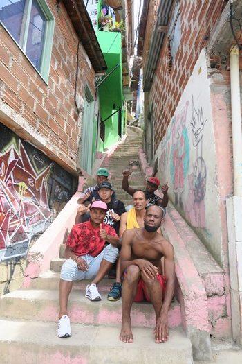 Fyre i Comuna 13, Colombia