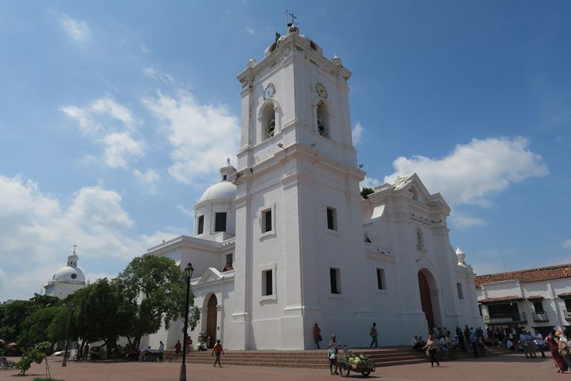 Kirken i Santa Marta, Colombia