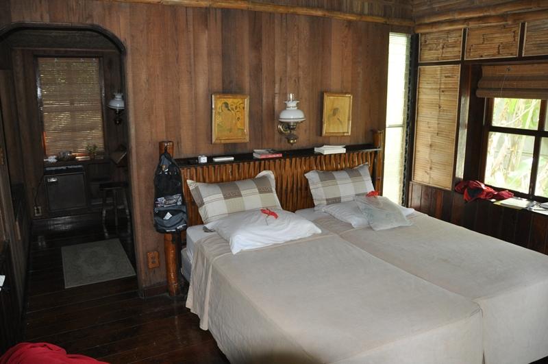 Vores hotelværelse på Yap i Mikronesien