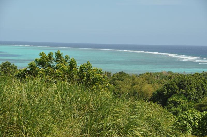 Udsigt over havet, Yap