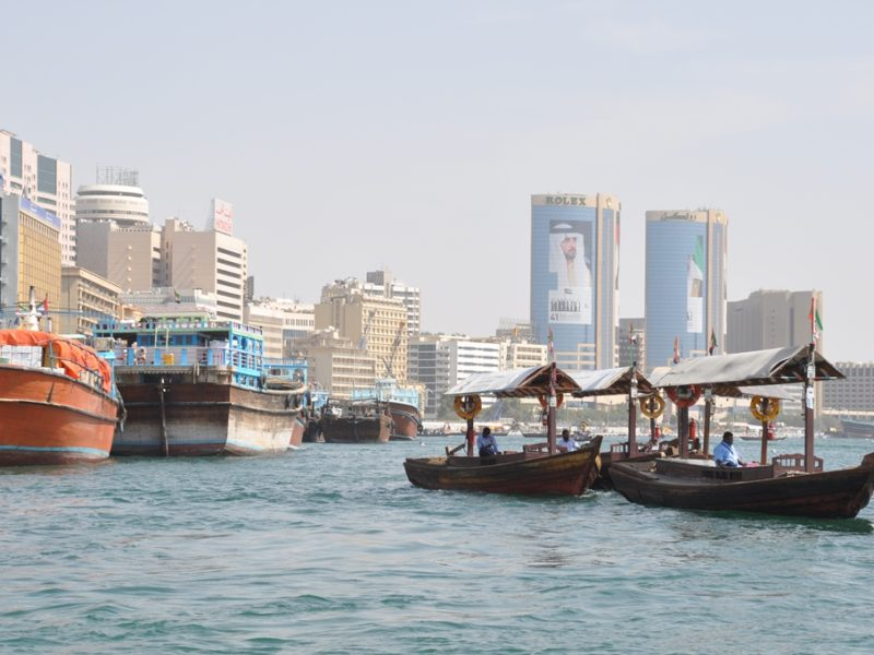 The creek, Det gamle Dubai