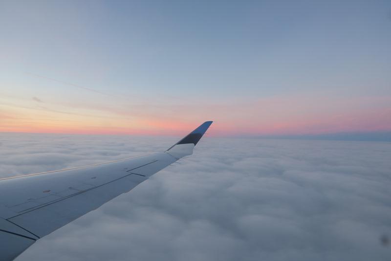 På vej til Warszawa
