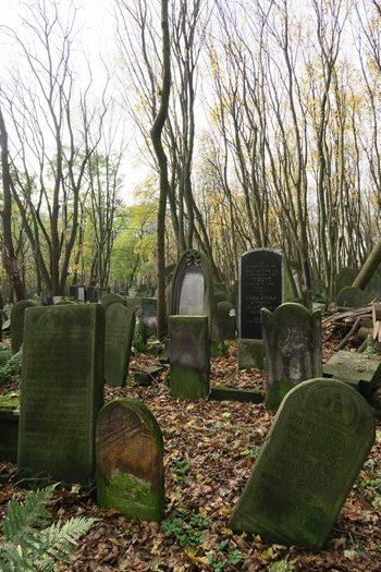 Den jødiske kirkegård i Warszawa