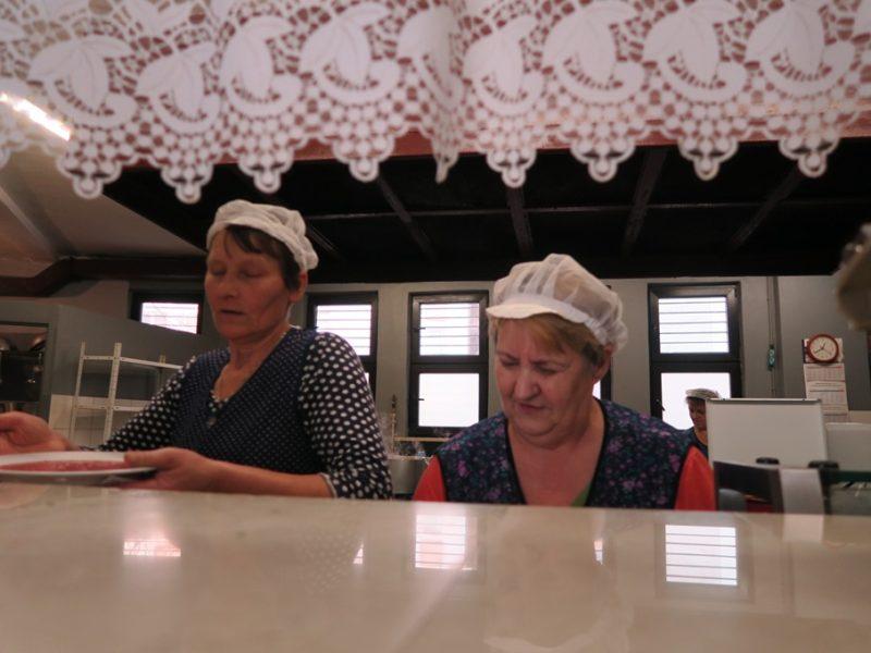 På mælkebar i Polen