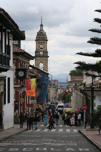 Tæt på Botero museet, Bogota, Colombia