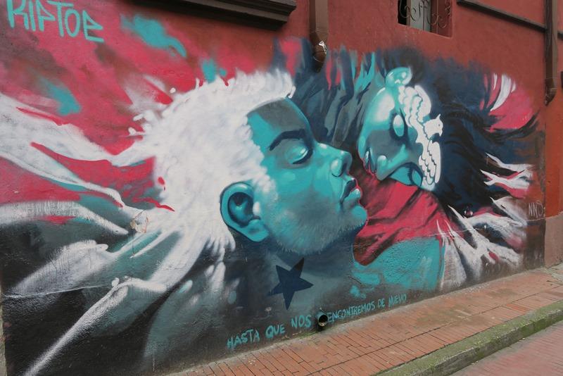 Graffiti, Bogota, Colombia